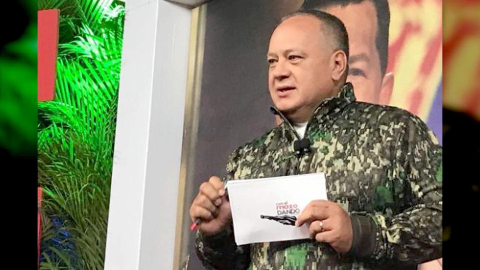 Diosdado Cabello Con la violencia la derecha no llegará al poder