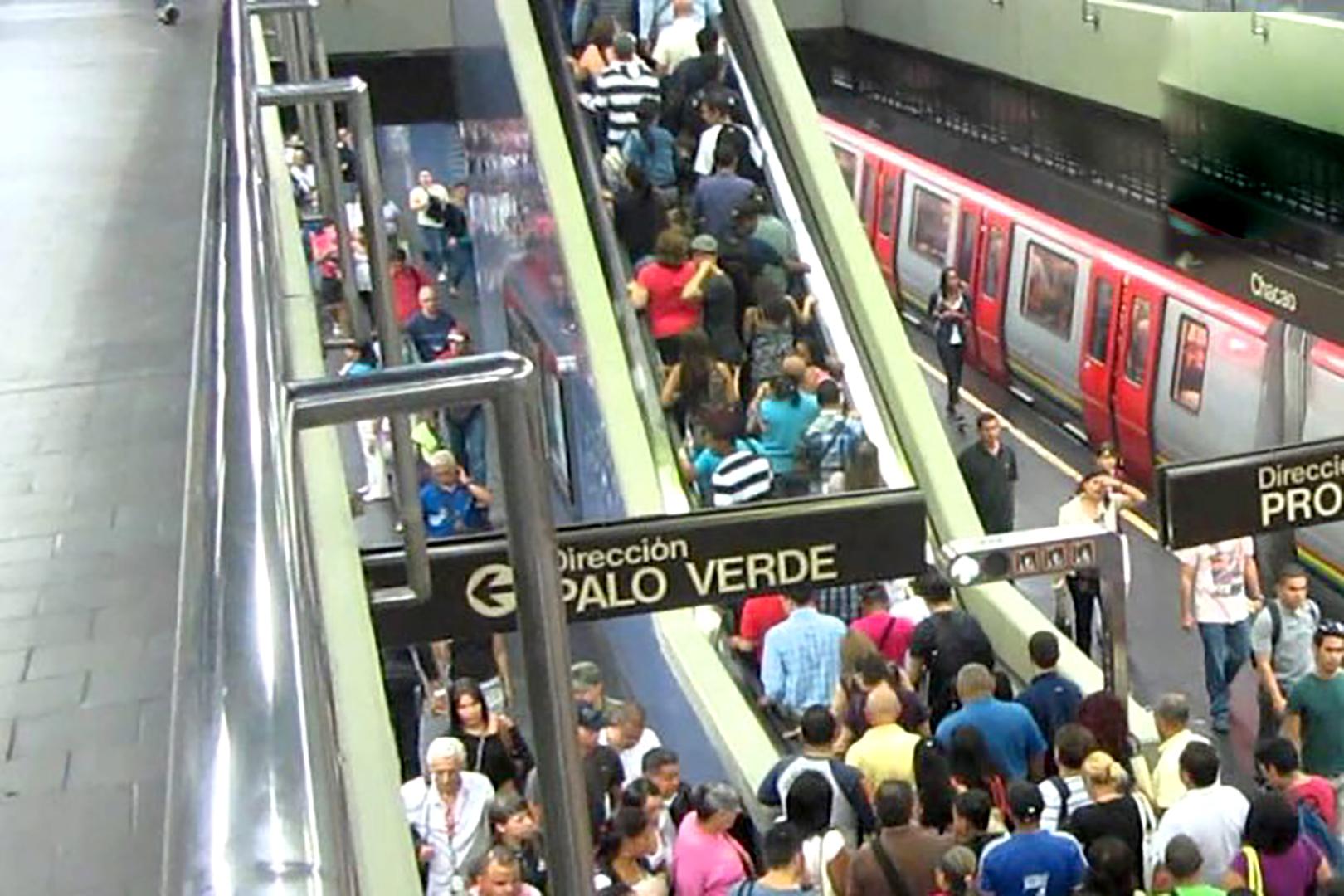 El Metro de Caracas con nueva tarifa en el pasaje