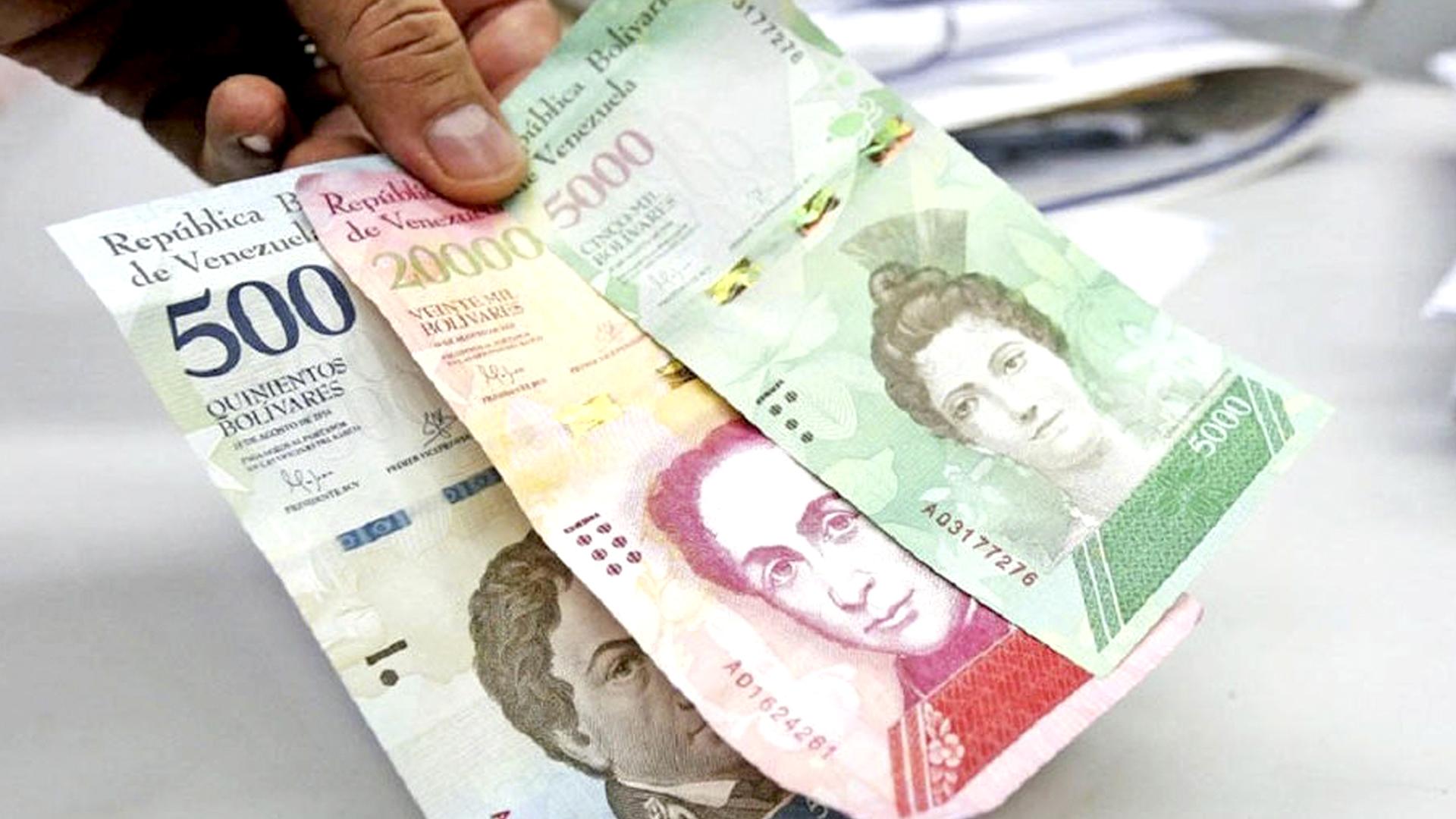 Billetes, sin valor