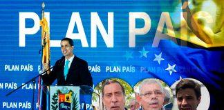 Plan País pretende restablecer la economía