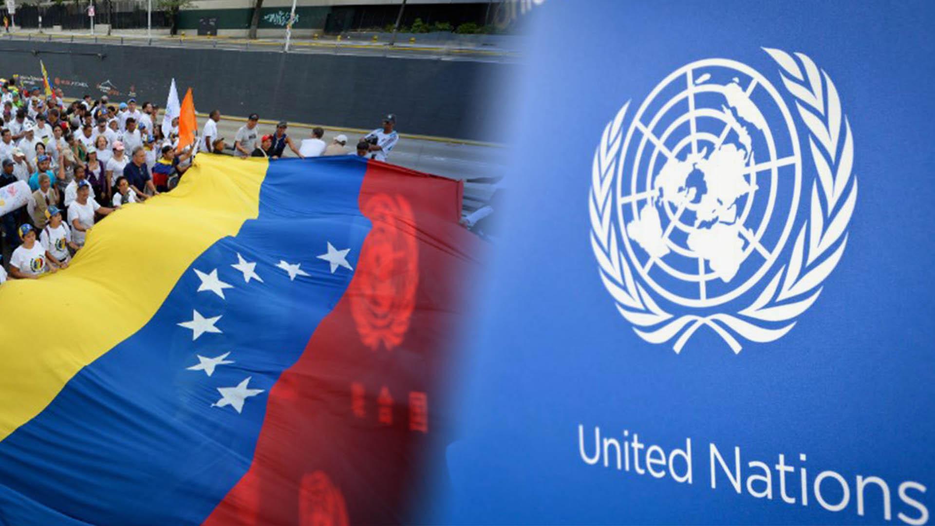 ONU la pronta solución política en Venezuela