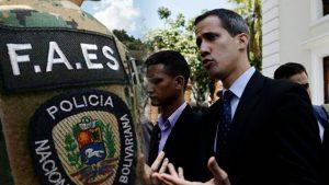 Persecución a Juan Guaidó
