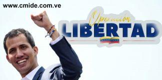 Operación Libertad - guaidó - cmide