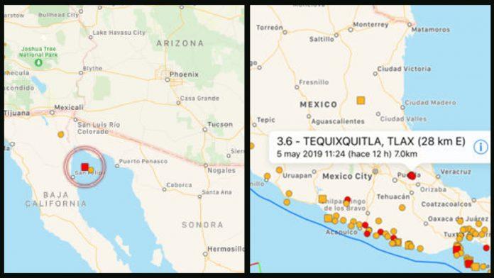 Movimientos sísmicos - Cmide Noticias