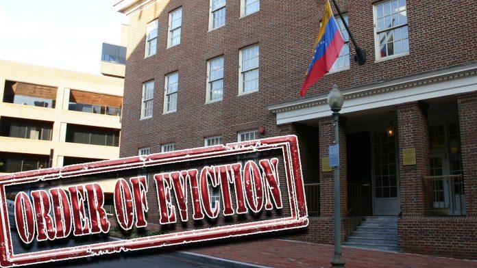 desalojo de Embajada Venezolana - Cmide Noticias