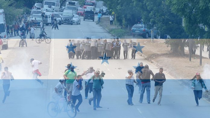 Protestas en Honduras - Cmide Noticias
