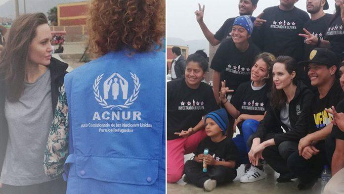 Angelina Jolie apoyo a los más necesitados - Cmide Noticias