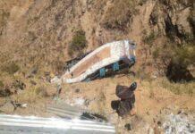 Accidente de autobús en Bolivia - Cmide