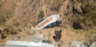 Accidente de autobús en Bolivia - Cmide