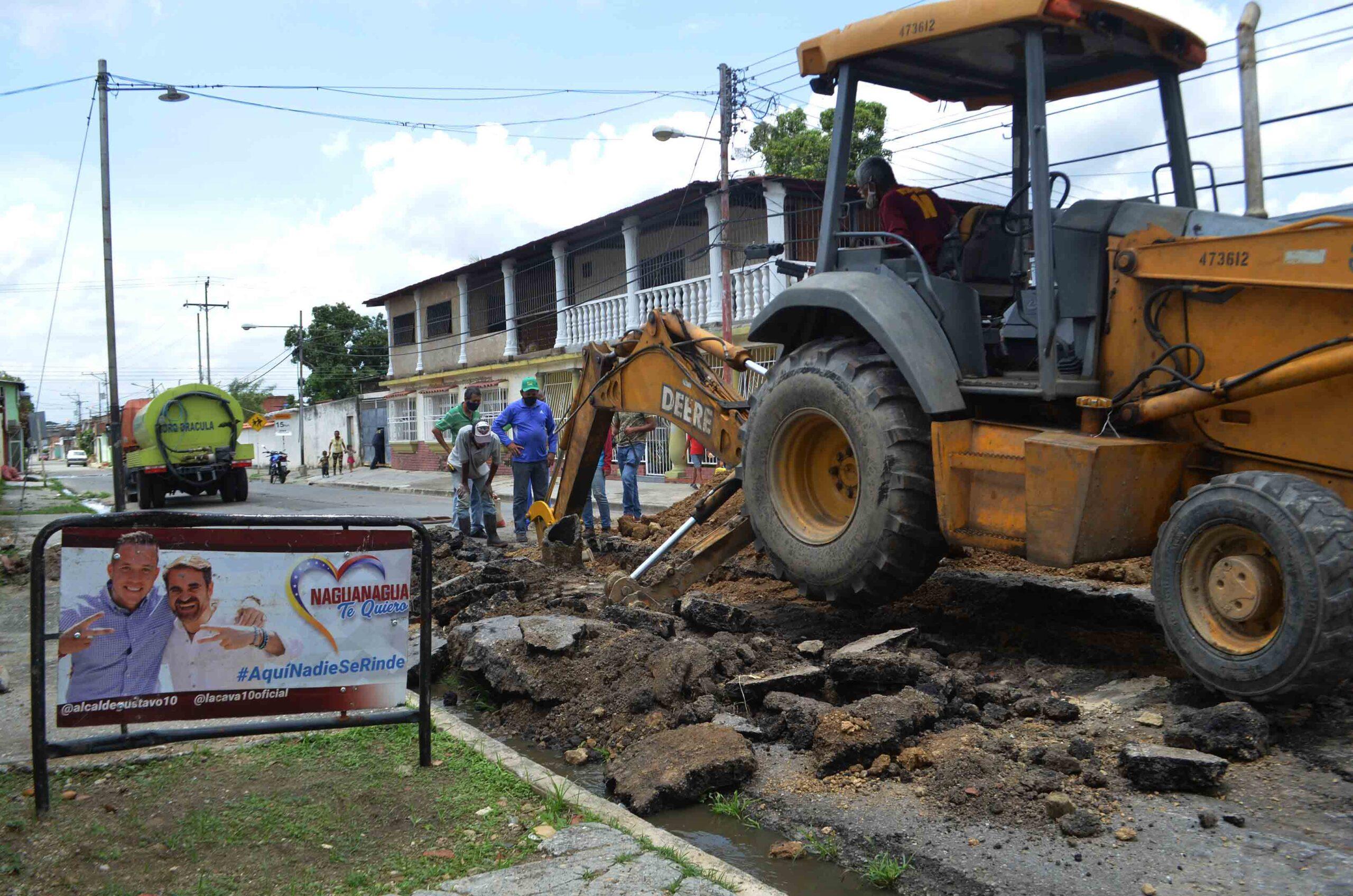 plan de mantenimiento de drenajes en Bárbula - Cmide