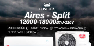 aire acondicionado tipo split