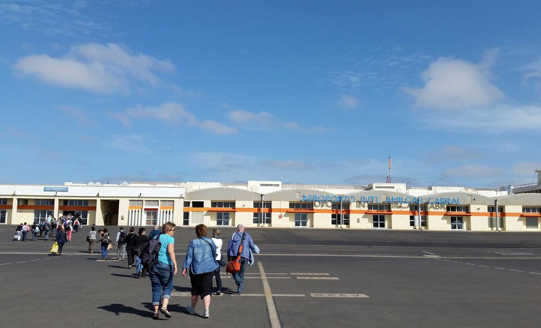 aeropuerto cabo verde