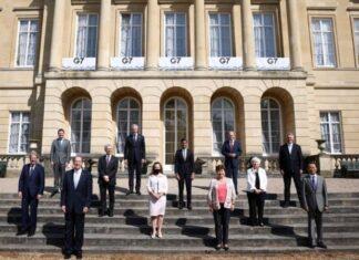 Los ministros de Finanzas del grupo G7