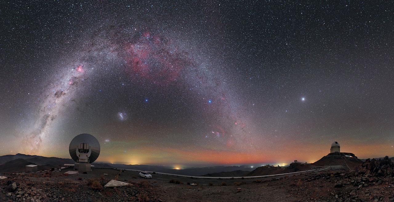 arco de galaxias