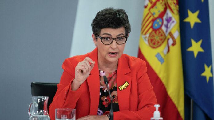 La canciller de España