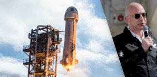 Jeff Bezos vuela al espacio