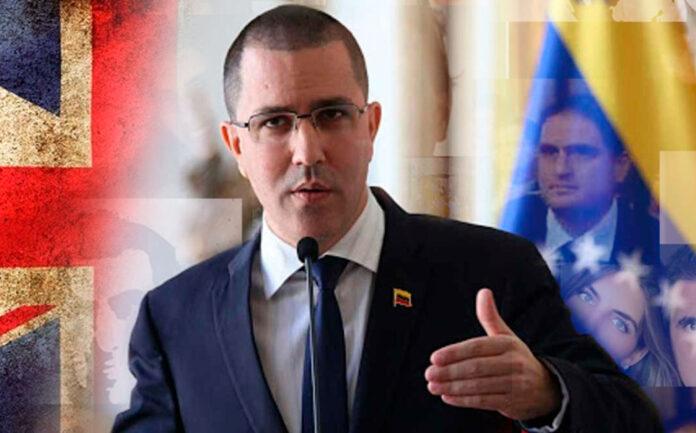 Venezuela rechaza sanciones reino unido