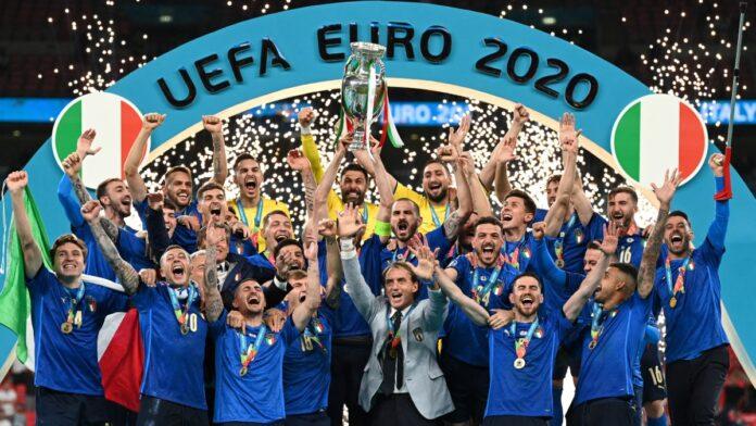 Italia campeón de la Eurocopa