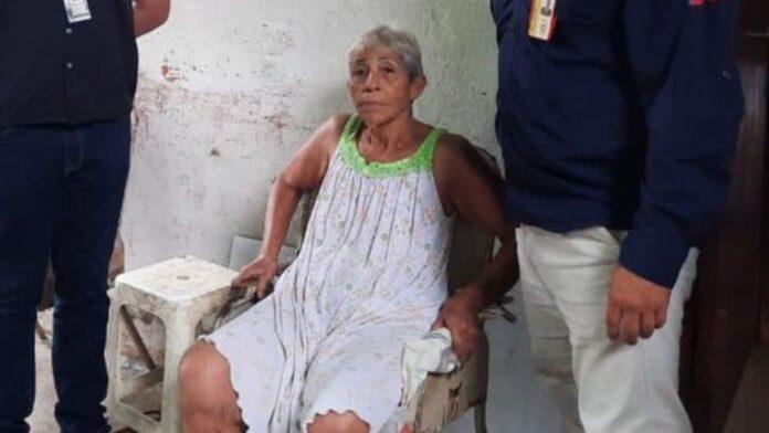 detenida mujer